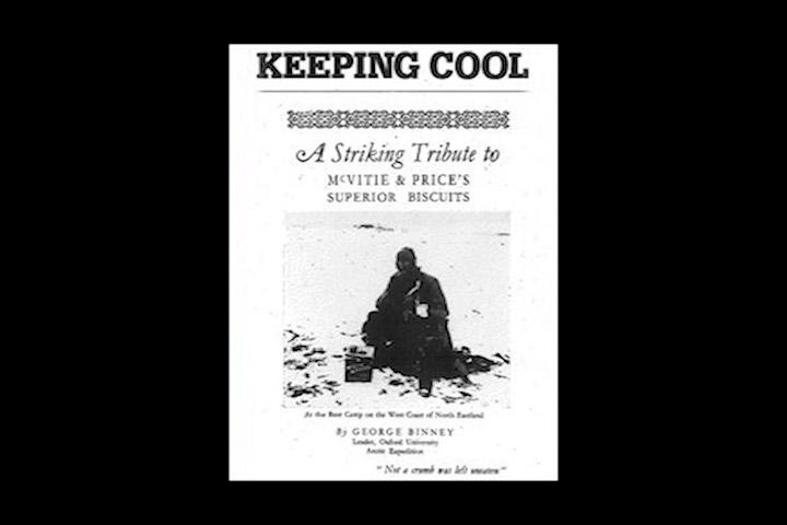 1885. brojne ekspedicije poput Amundsenove na Sjeverni Pol, naru uju zalihe McVities keksa