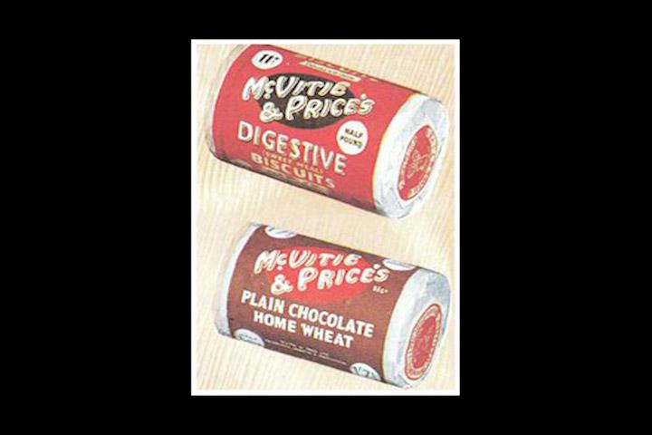 1945. od 390 razli itih vrsta keksa i torti proizvedenih godine 1939, nakon Drugog Svjetskog rata ostaje ih u prodaji samo 10