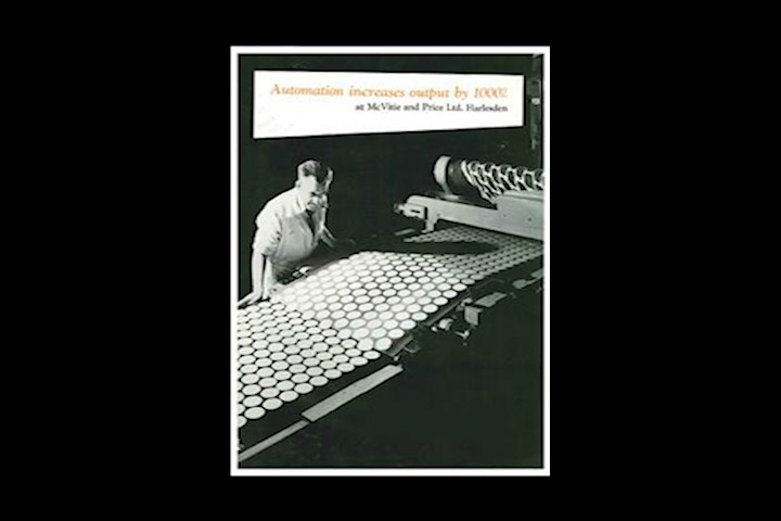1965. godine tvornica u Harlesdenu postaje prva kompletno automatizirana tvornica keksa na svijetu