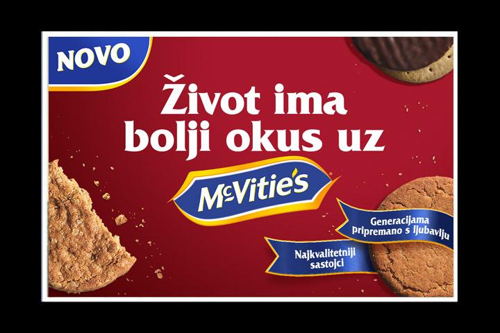 McVitie's vam predstavlja svoj novi look! …Život ima bolji okus s McVitiesom!