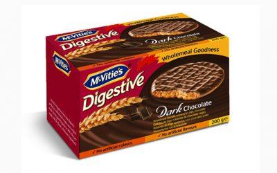 McVitie's Digestive Dark Chocolate 200g