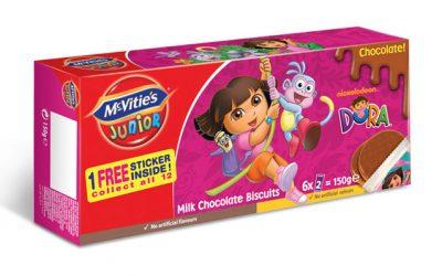 McVitie's Dora Chocolate 150g