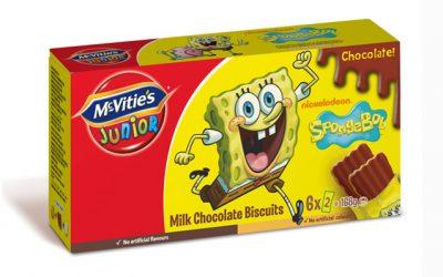McVitie's Spongebob Chocolate 168g