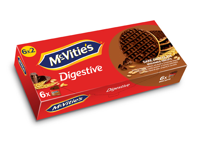 McVitie's Dark Chocolate 6×33.3g