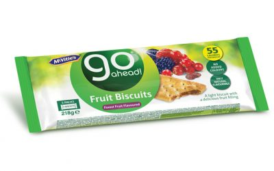 McVitie's Go Ahead! Forest Fruit 5×43,6g