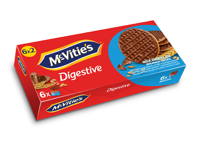 McVitie's Milk Chocolate 6×33.3g