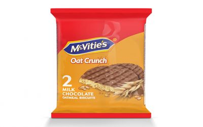 McVitie's Oat Crunch Milk Chocolate 37.5g