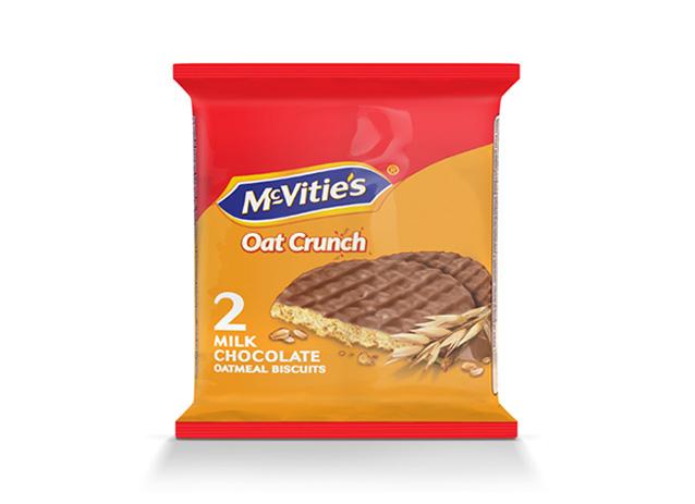 McVitie's Oat Crunch Milk Chocolate 37.5g