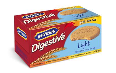 McVitie's Digestive Light 250g