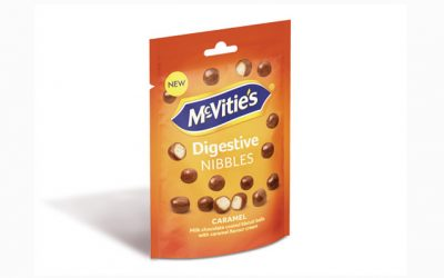 McVitie's Digestive Nibbles Caramel