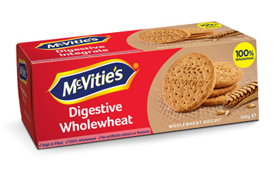 McVitie's Digestive Wholewheat 400g