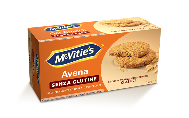 McVitie's Oat Crunch Gluten Free Classic 150g