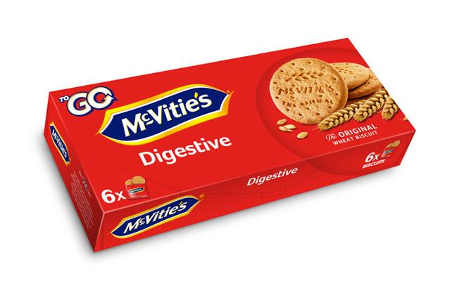McVitie's Original Digestive ToGo 6×29,4g