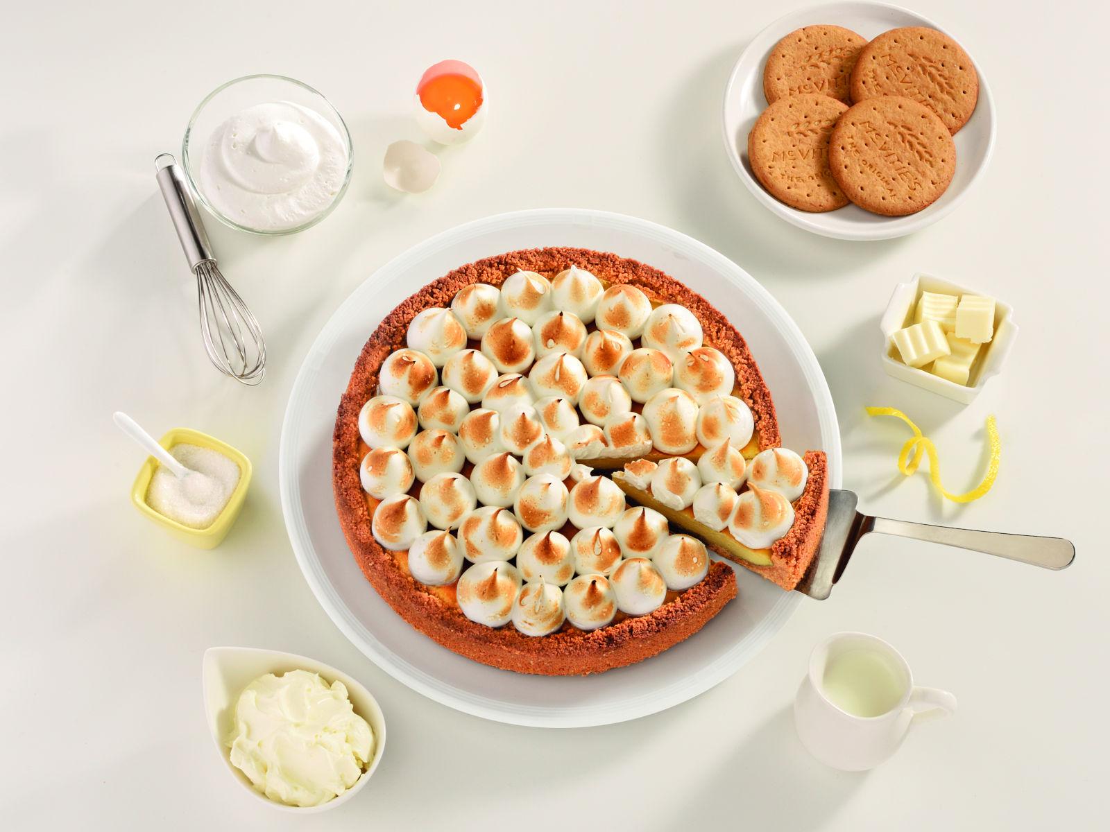 Cheesecake s limunom i meringom
