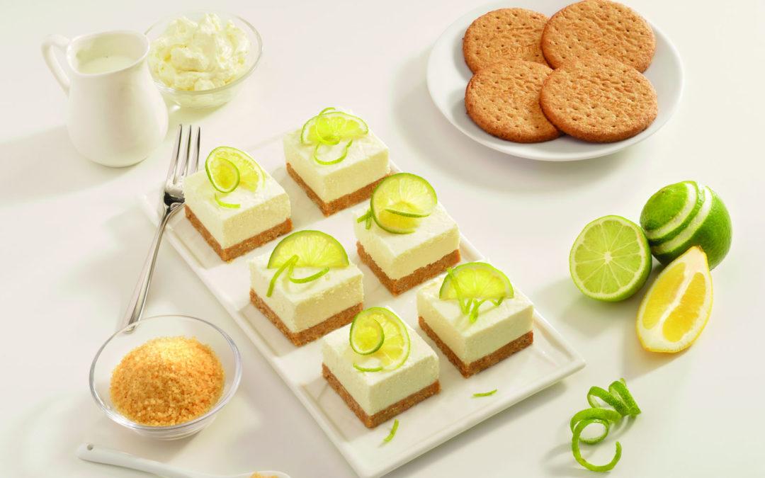 Mini Cheesecake s okusom limuna