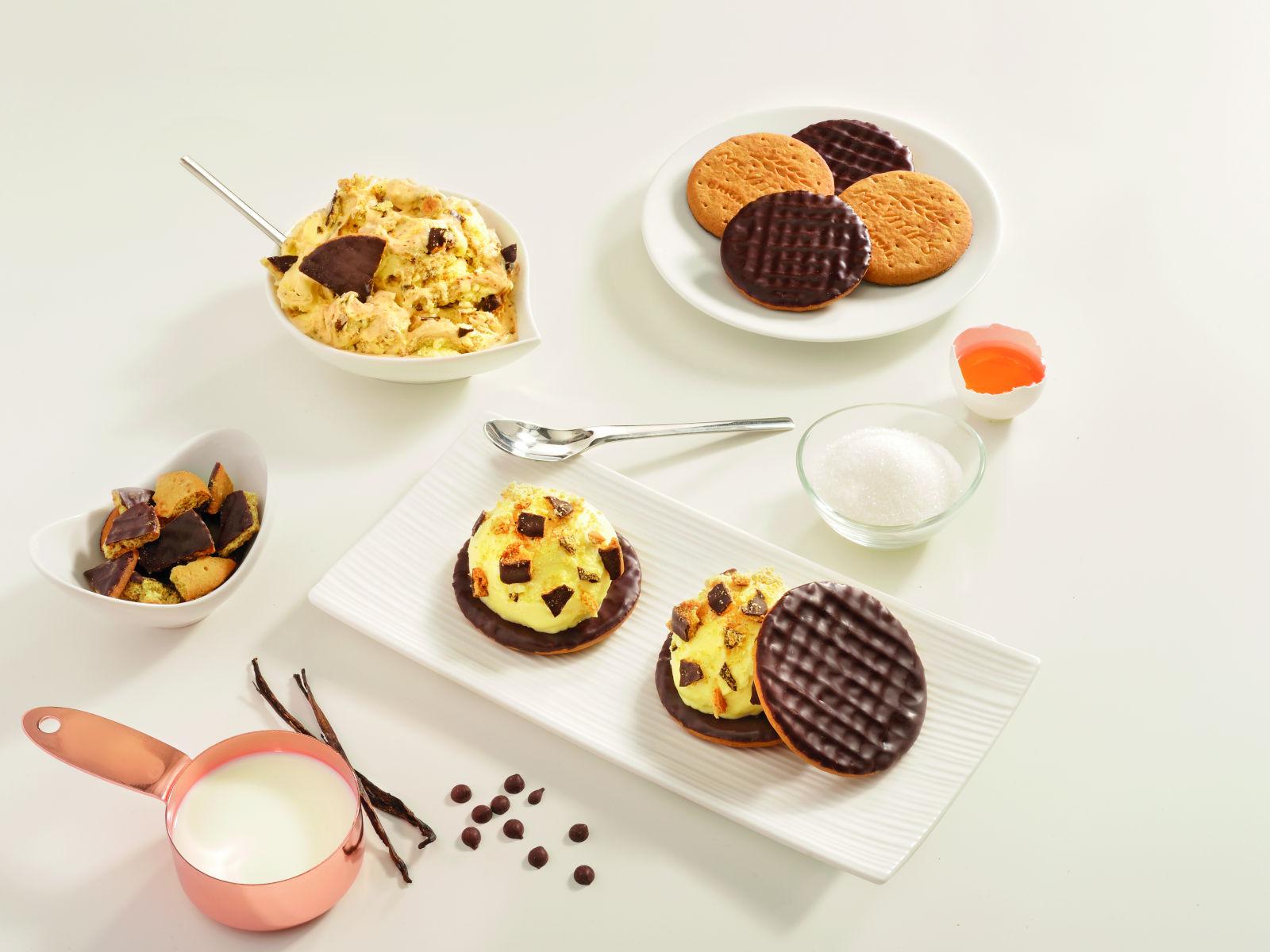 Sladoled od vanilije i čokolade
