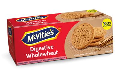 McVitie's Digestive Wholewheat 400g
