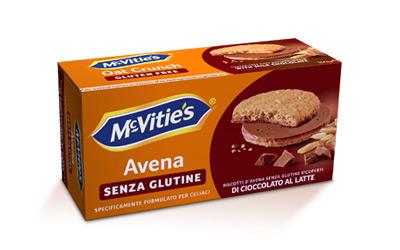 McVitie's Oat Crunch Gluten Free Chocolate 150g