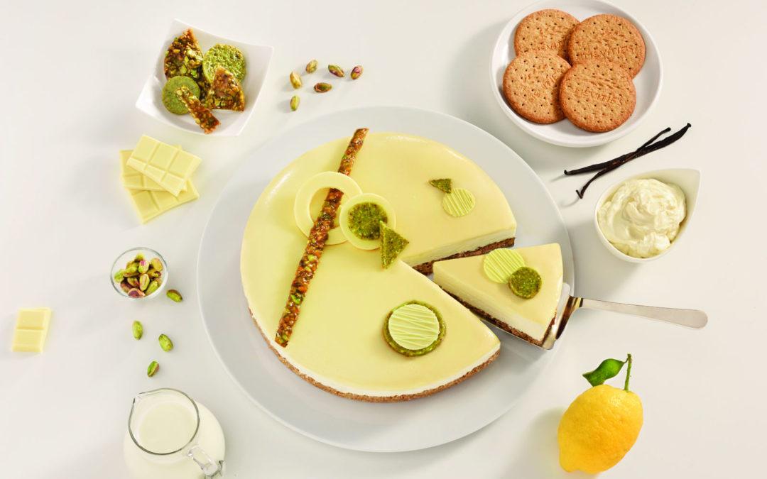 Cheesecake s bijelom čokoladom i pistacijama